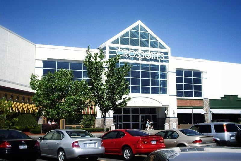 Crossgates Mall - a large business center in Albany, NY that has web design