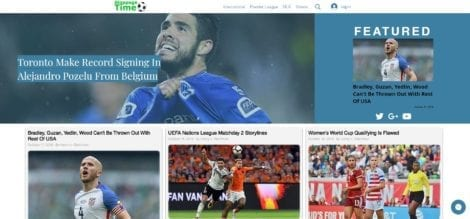 Stoppage Time - Ortana Technologies Website Design Client