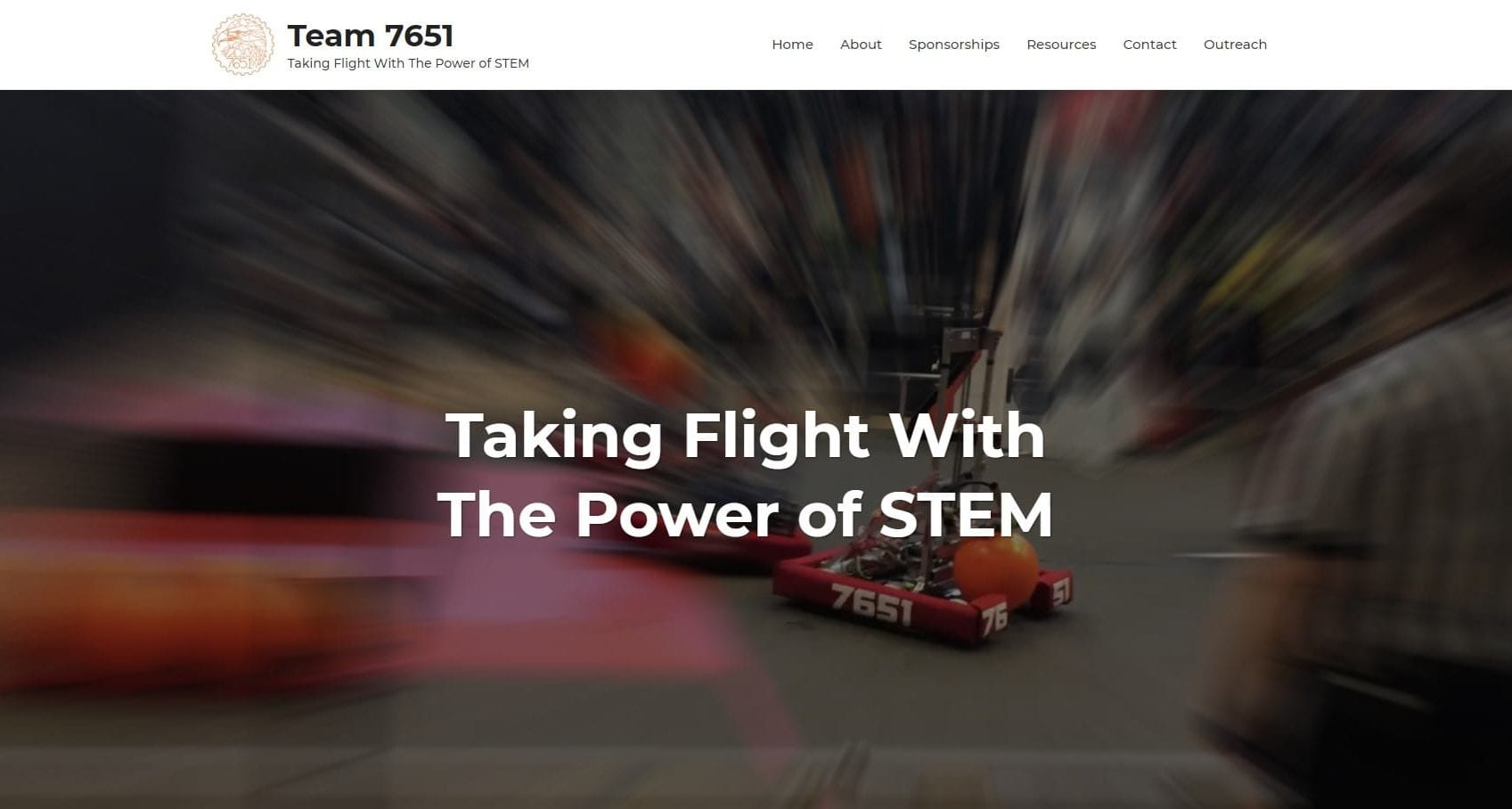 First Robotics Team 7651 Website Hosting and Managment