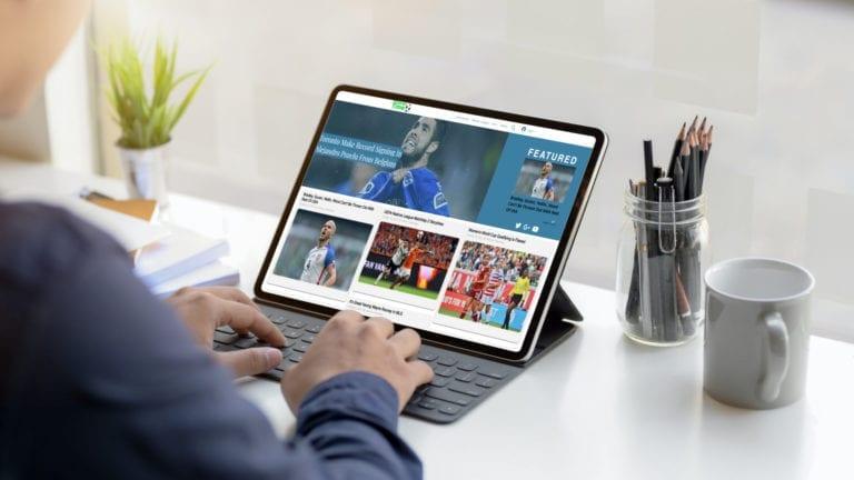 Stoppage Time's Soccer News Website